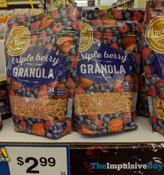 Giant Limited Time Originals Triple Berry Granola