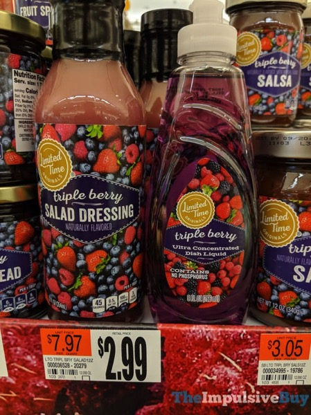 Giant Limited Time Originals Triple Berry Salad Dressing