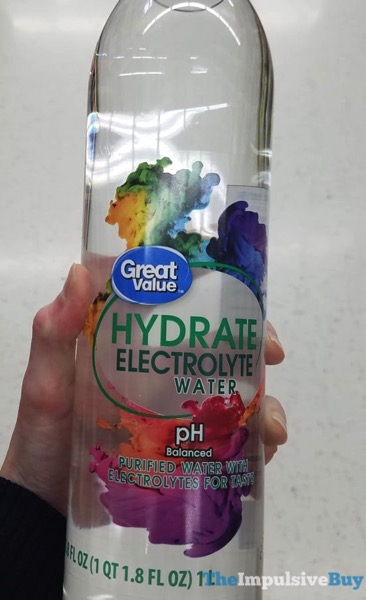 Great Value Hydrate Electrolyte Water