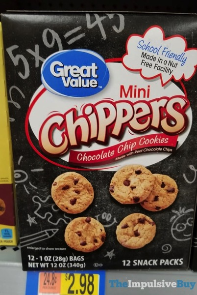 Great Value Mini Chippers Chocolate Chip Cookies