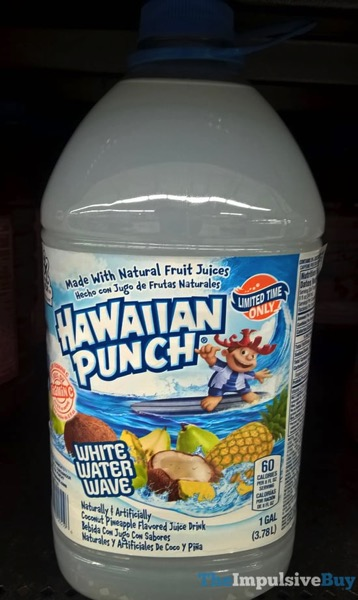 Hawaiian Punch Limited Time Only White Water Wave