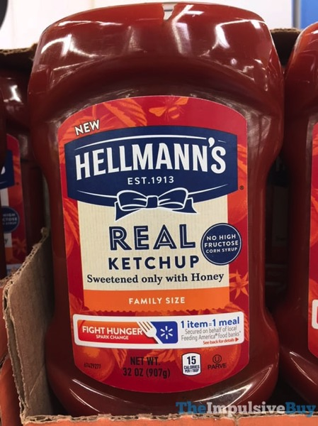 Hellmann s Real Ketchup with Honey