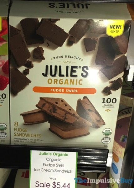 Julie s Organic Fudge Swirl Fudge Sandwiches