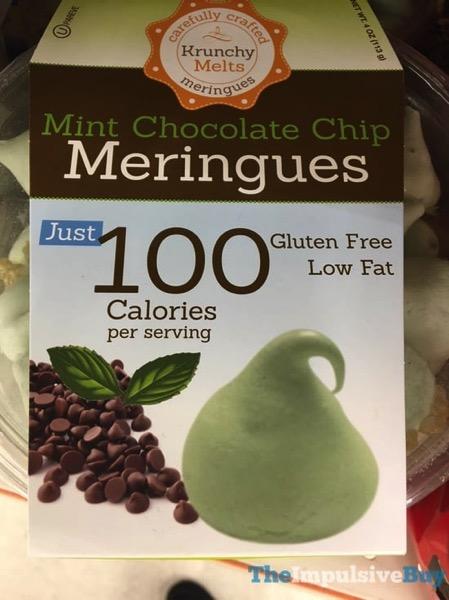 Krunchy Melts Mint Chocolate Chip Meringues