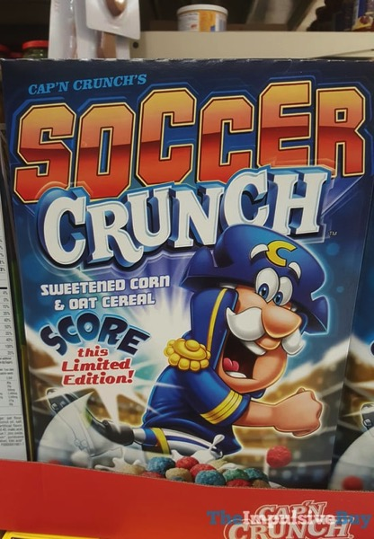 Limited Edition Cap n Crunch s Soccer Crunch Cereal  2018