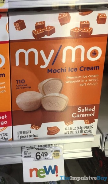 My Mo Salted Caramel Mochi Ice Cream