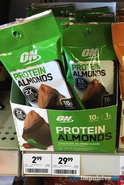 Optimum Nutrition Chocolate Jalapeno Protein Almonds