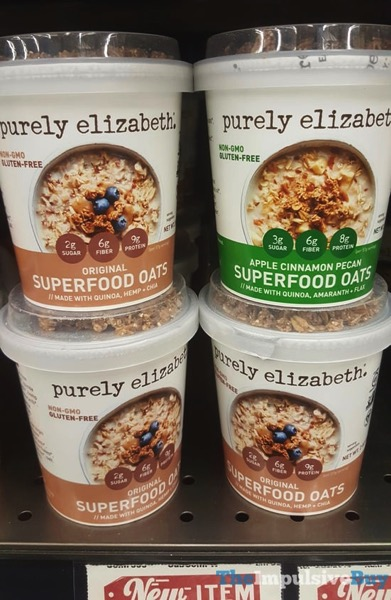 Purely Elizabeth Original and Apple Cinnamon Pecan Superfood Oats