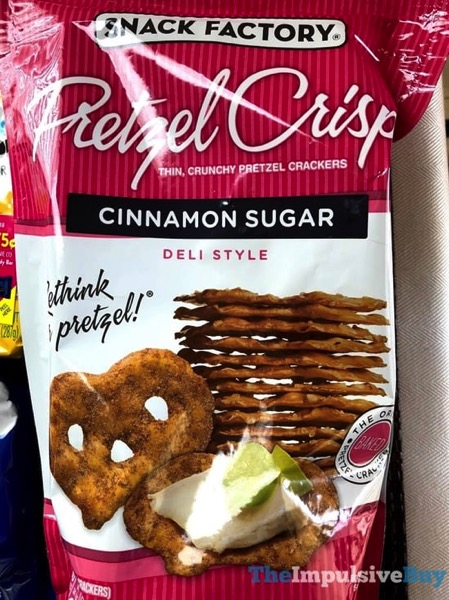 Snack Factory Cinnamon Sugar Pretzel Crisps