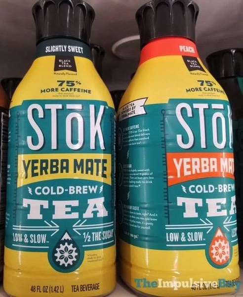 Stok Yerba Mate Cole Brew Tea  Slightly Sweet and Peach