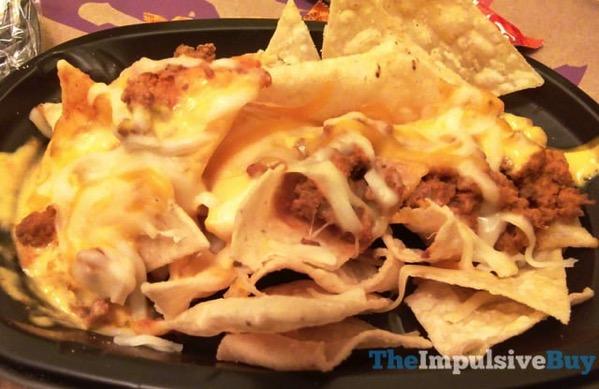 Taco Bell Triple Melt Nachos 2
