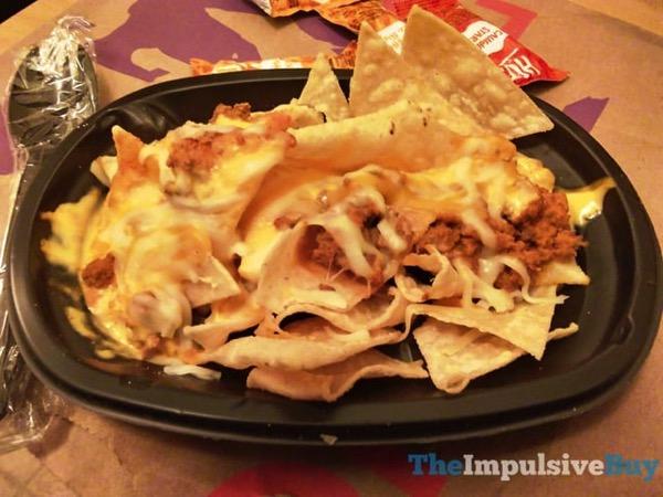 Taco Bell Triple Melt Nachos