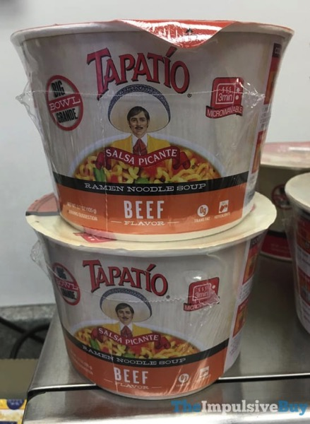 Tapatio Beef Ramen Noodle Soup