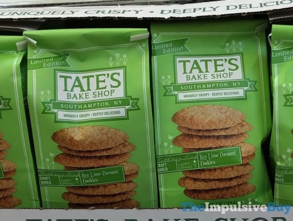 Tate s Bake Shop Limited Edition Key Lime Coconut Cookies