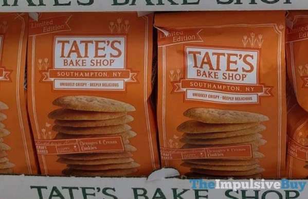 Tate s Bake Shop Limited Edition Oranges  Cream Cookies