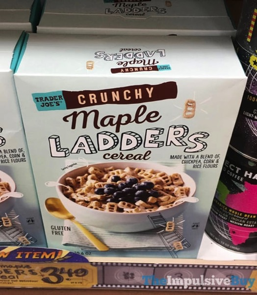 Trader Joe s Crunchy Maple Ladders Cereal