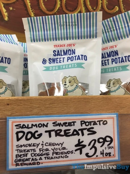 Trader Joe s Salmon  Sweet Potato Dog Treats