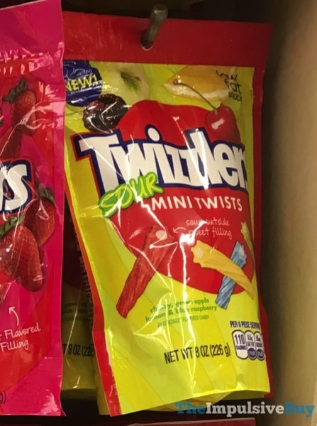 Twizzler Sour Mini Twists
