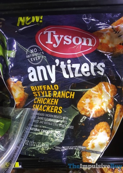 Tyson Any tizers Buffalo Style Ranch Chicken Snackers