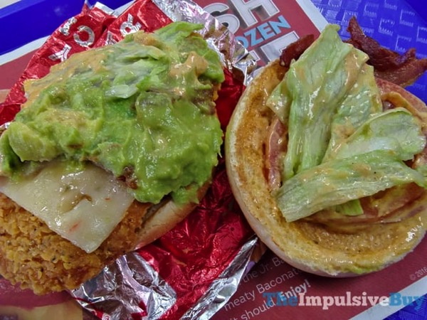 Review wendy s southwest avocado spicy chicken sandwich for Does wendy s have a fish sandwich