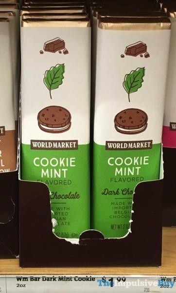 World Market Cookie Mint Dark Chocolate Bar