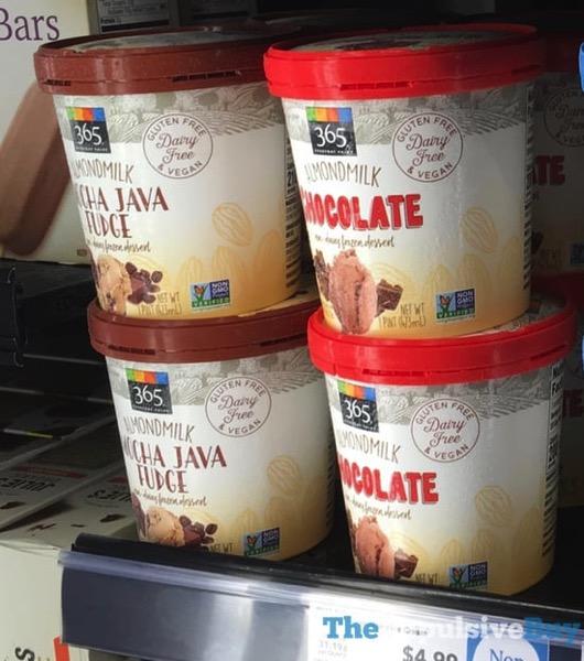 365 Everyday Value Almondmilk Mocha Java Fudge and Chocolate Non Dairy Frozen Desserts