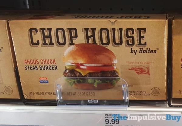 Chop House by Holten Angus Chuck Steak Burger