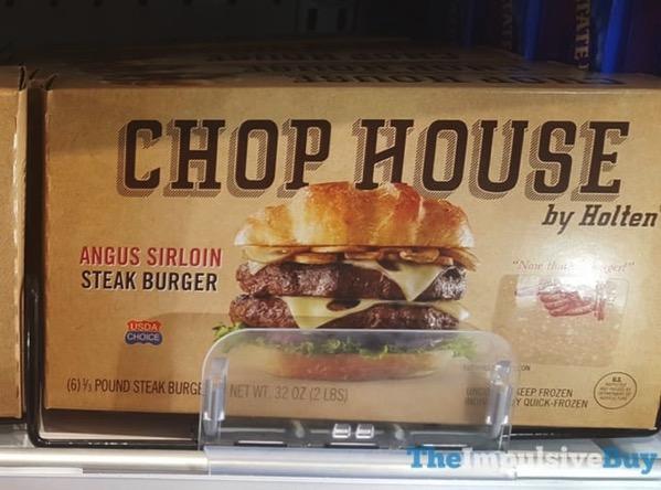 Chop House by Holten Angus Sirloin Steak Burger