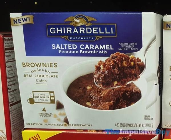 Ghirarbelli Salted Caramel Premium Mug Brownie Mix