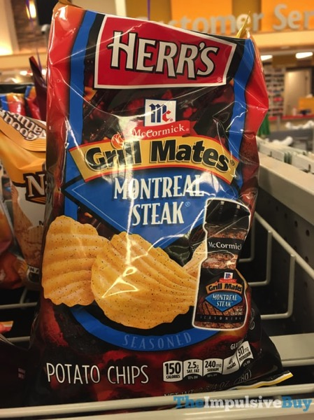 Herr s McCormick Grill Mates Montreal Steak Potato Chips