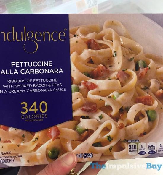 Indulgence Fettuccine Alla Carbonara