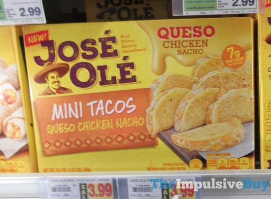 Joes Ole Mini Tacos Queso Chicken Nacho