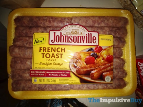 Johnsonville French Toast Breakfast Sausage