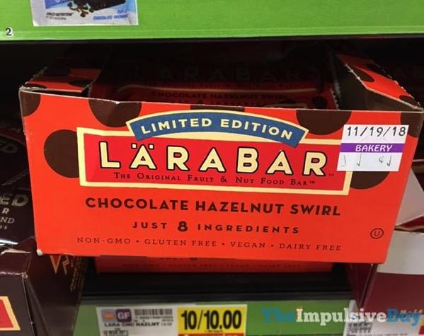 Larabar Limited Edition Chocolate Hazelnut Swirl Bar