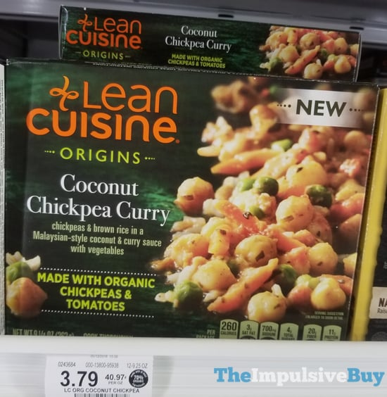 Lean Cuisine Origins Coconut Chickpea Curry