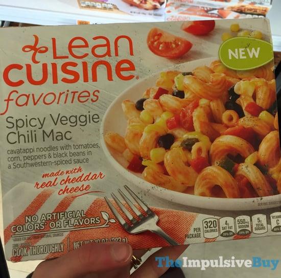 Lean Cusine Favorites Spicy Veggie Chili Mac