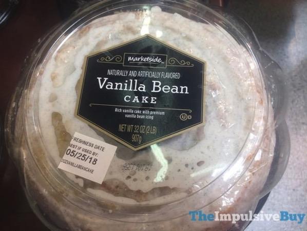 Marketside Vanilla Bean Cake