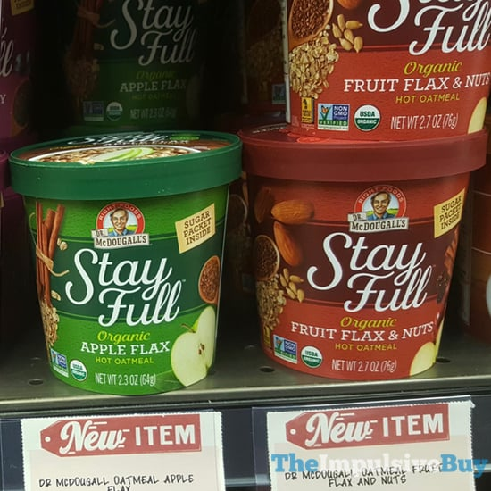 McDougall s Stay Full Organic Hot Oatmeal  Apple Flax and Fruit Flax  Nuts