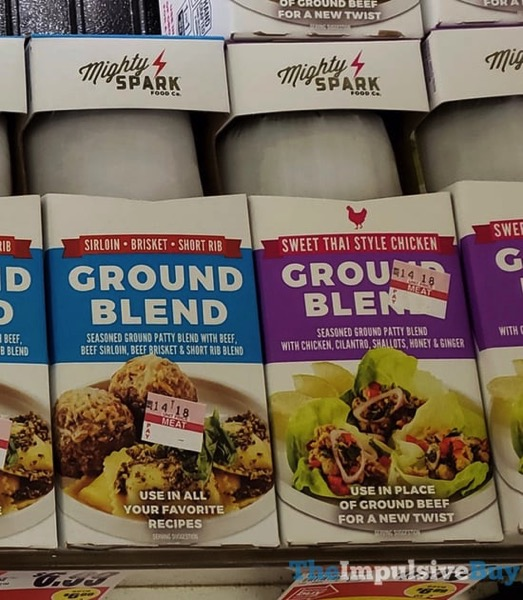 Mighty Spark Sirloin Brisket Short Rib Ground Blend and Sweet Thai Style Chicken Ground Blend
