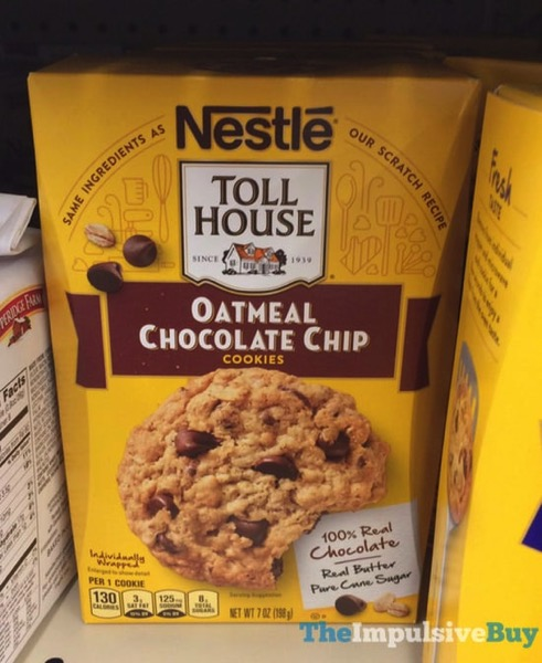 Nestle Toll House Oatmeal Chocolate Chip Cookies