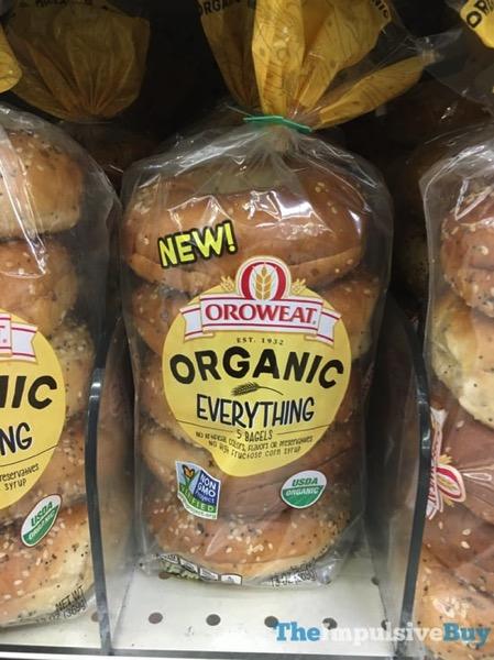 Oroweat Organic Everything Bagels