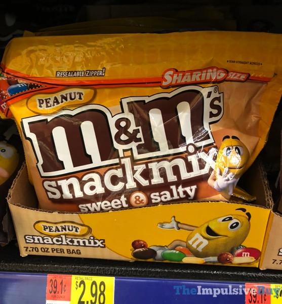 Peanut M M s Snackmix Sweet  Salty