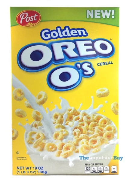 Post Golden Oreo O s Cereal