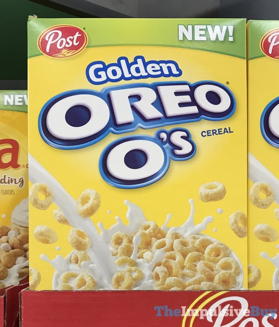 SPOTTED ON SHELVES: Post Banana Pudding Nilla Cereal And
