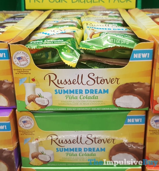 Russell Stover Summer Dream Pina Colada Bars