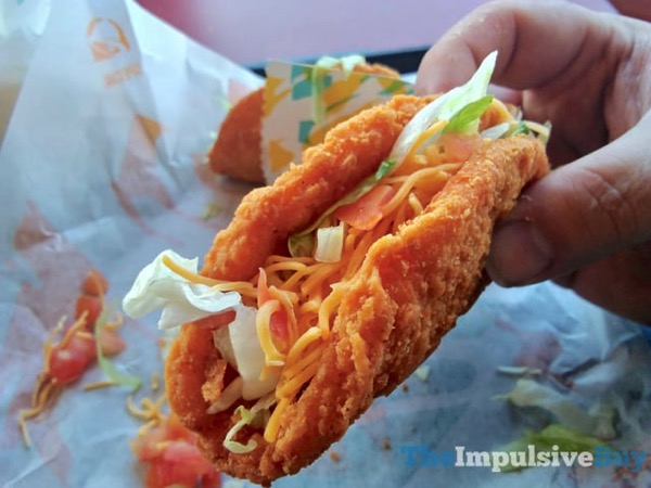 Taco Bell Wild Naked Chicken Chalupa 2