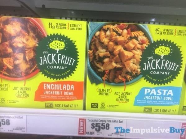 The Jackfruit Company Enchilada Jackfruit Bowl and Pasta Jackfruit Bowl