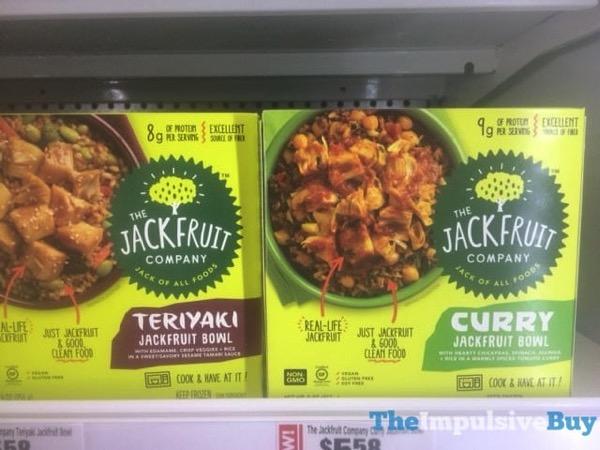 The Jackfruit Company Teriyaki Jackfruit Bowl and Curry Jackfruit Bowl