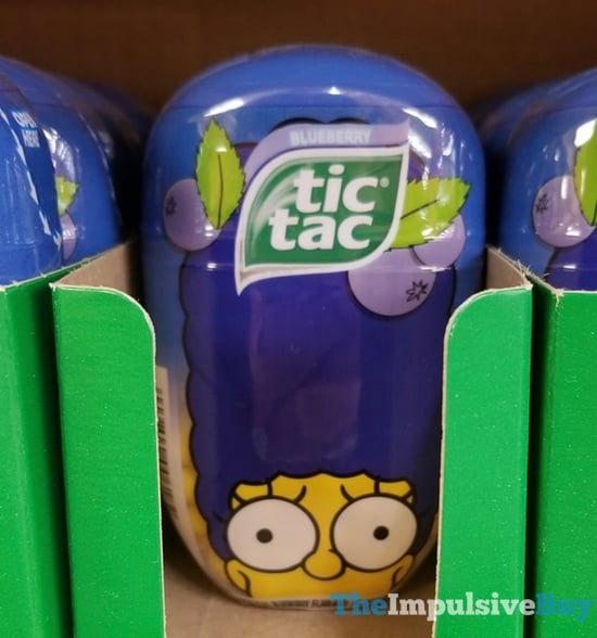 The Simpsons Blueberry Flavor Tic Tac