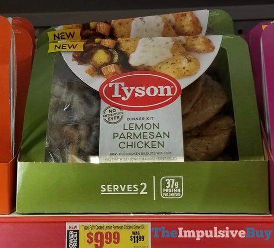 Tyson Lemonn Parmesan Chicken Entree Kit
